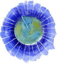 The Crystal Earthworks logo